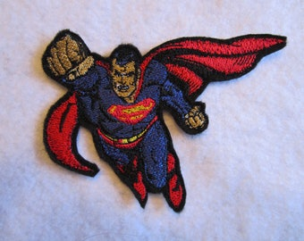 Embroidered Superman Iron On Patch, Iron On Patch, Superman, Superman Patch, Super Hero, Super Hero Patch