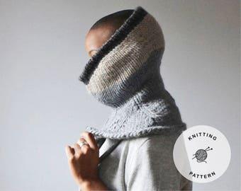 Helena Balaclava Pattern   Knitting Tutorial