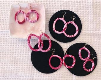 Polymer Clay Earring Dangles / Statement Jewellery Earrings