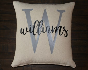 Custom Personalized  Pillow