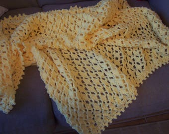 Yellow Baby Afghan