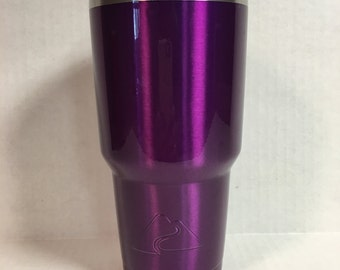 OZARK TRAIL 30oz tumbler/cup powder coated Translucent Violet.  20oz available to.