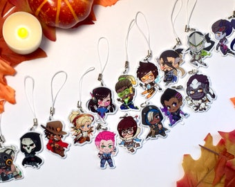 OVW Inspired Chibi Charms