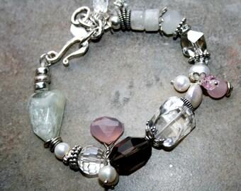 CORDILANE Multi Gemstone and Sterling Bracelet