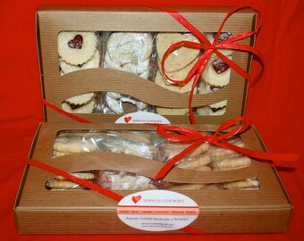 Austrian Cookies  (Large Variety gift box - 12 oz)