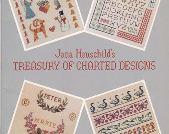 Treasury of Charted Designs Book. 24581.