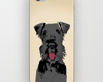 Kerry Blue Terrier on Phone Case -  Samsung Galaxy S7, iPhone 6S, iPhone 6 Plus, Terrier Gifts, Dog Gifts, iPhone 8