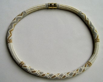 Bead Crochet Necklaces:  Your Choice of Any Four of the Necklace Patterns