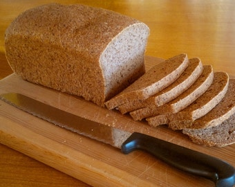 Sorghum Bread (gluten free, dairy free, egg free)