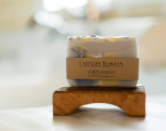 Lavender Blossom Cold Process Soap/Moisturizing/ Handmade Soap/ Natural Soap