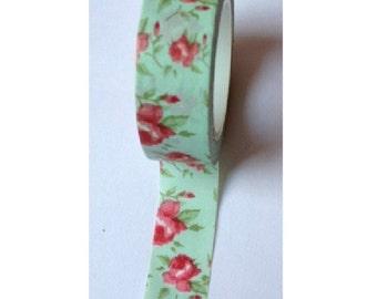 Everything but flower - Japanese Washi Masking Tape - 16 yard