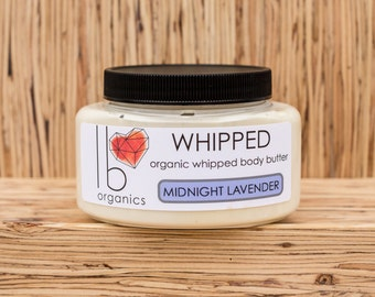 Whipped // Midnight Lavender Organic Body Butter