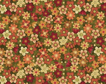 Crafty Cats  -Floral 10077-44
