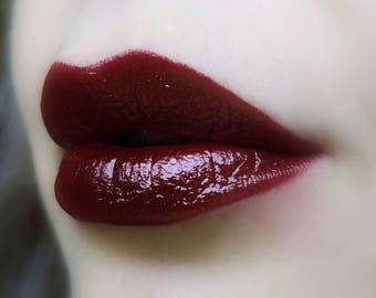 Rare Blood - Deep Red Lipstick - Natural Cruelty Free Gluten Free Fresh Handmade