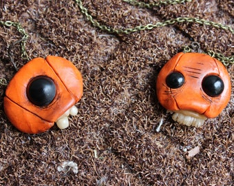 Pumpkin Grimling Necklaces
