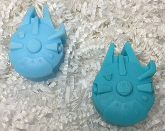 Star Wars soap Millennium Falcon Soap Star Wars millennium falcon bar soap Star wars soap Star wars gift Party favors Soap for guys