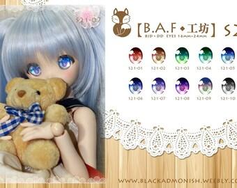 24MM Dollfie Dream Resin Eyes By BAF Studio in Taiwan New Game Snow Miku