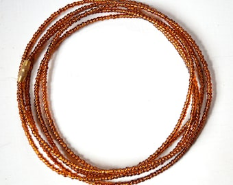 Brown - Waist Beads - Belly Chain - Belly Beads - African Waist Beads - African jewelry