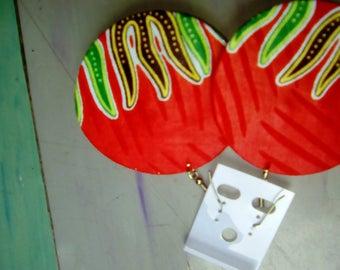 Kitenge Earring s