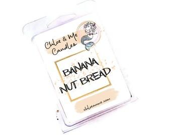 Parasoy Wax Melt Clamshell- Banana Nut Bread