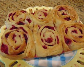 Raspberry Rolls