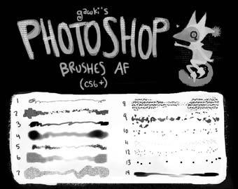 2017 Photoshop Brushes!