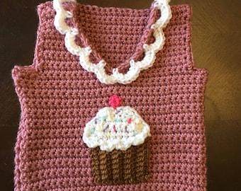 Baby cupcake vest