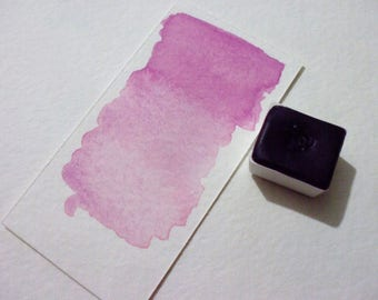 Ultramarine Pink - Handmade Watercolor Paint - Art Supply - Artist Gift - Art Paint - Handcrafted Professional Watercolour