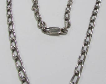 """Sterling Silver Chain 26"""" Long"""