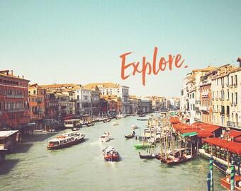 Venice Italy Art, Venice Photo, Venice Photography, Venice Wall Art, Venice Fine Art, Art Prints, Venice Art Print, Venice Gondola, Wall Art