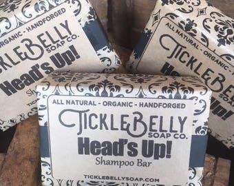 Heads up! Shampoo bar, Remarkable conditioning Shampoo