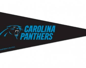 "Carolina Panthers NFL Mini Pennant, 4"" x 10"""