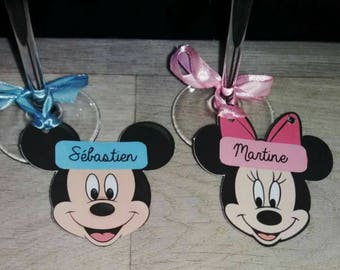 brand instead blue mickey and minnie pink