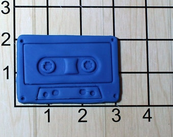 Cassette Tape Fondant Cookie Cutter AND Stamp #1571