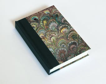 """Sketchbook 4x6"""" with motifs of marbled papers - 26"""