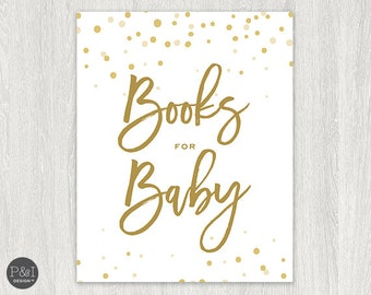 Books for Baby Sign | Signage |  Instant Download 8x10