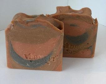 Mango Cilantro Canyon Soap/ Artisan Soap / Handmade Soap / Soap / Cold Process Soap
