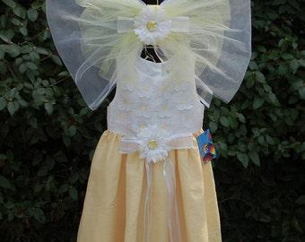 Daisy Flower Fairy Costume