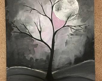 Beautiful Acrylic Hand Painted Scenerys