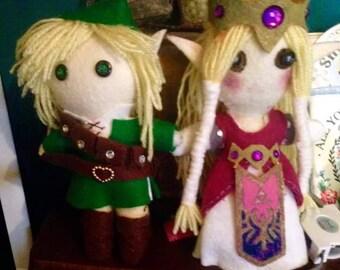 Link and zelda set