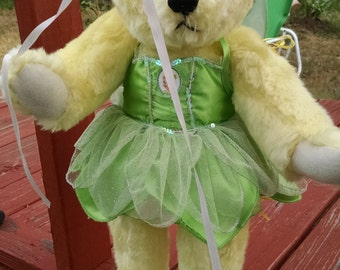 Handcrafted One of a Kind Bear Puppet Wall Hanging 15 Inches Tall SALE