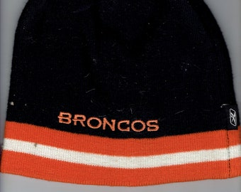 broncos knit cap