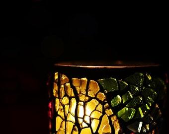 """Candle Fine Art Print Photograph, Color Home Decor, 5""""x7"""", 8""""x10"""", 12""""x16"""""""