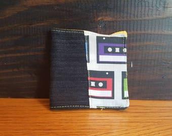 Portefeuille cassette vintage