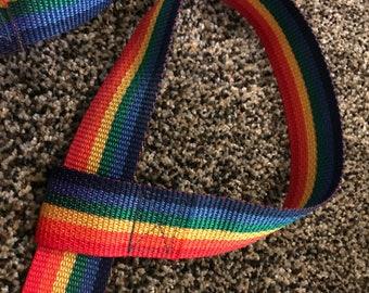 RAINBOW yoga mat or poster adjustable strap