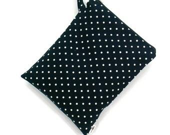 SALE 20% OFF Polka dot Wet bag, swim suit bag, Bikini bag, Diaper bag, Bathing suit bag, wet dry bag, Travel bag, Gift