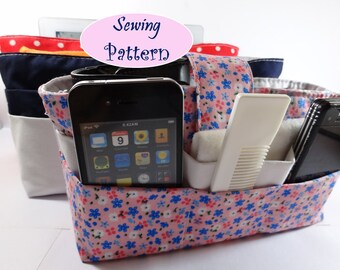 Cosmetic Travel box pouch Ipad Handbag Bag Purse Organizer Insert Instant Download PDF SEWING PATTERN tutorials pdf tutorial Ebook e-pattern