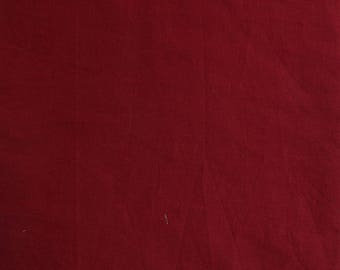 Fabric, dark Burgundy lightweight cotton