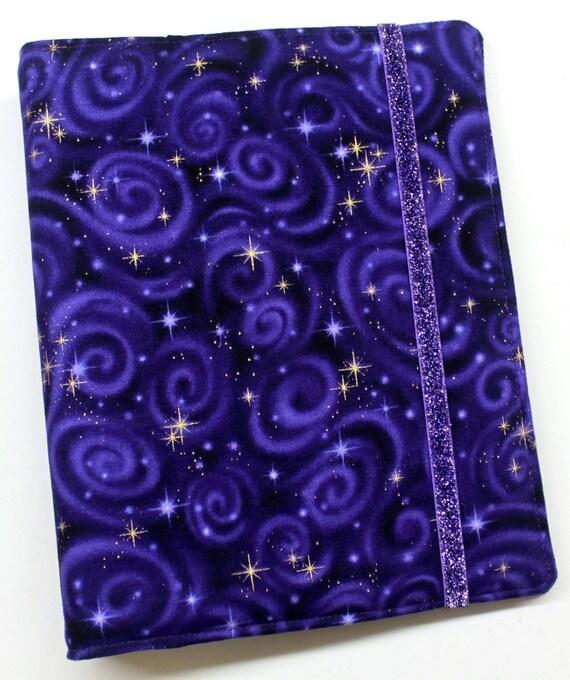 Purple Stargazer WIP Tracker Cover and Binder