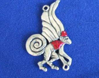 Flying Monkey Pendant